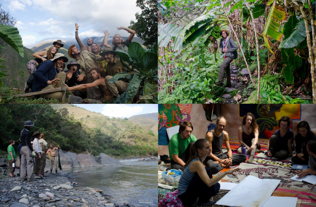 Image shows Paititi 2016 Permaculture Design Course